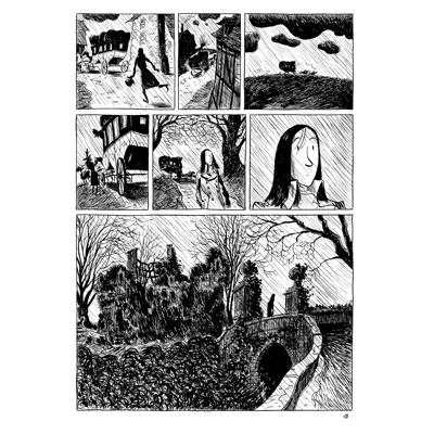 Original Art Page - Romantica - Chamisso - Page 18