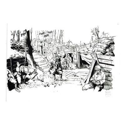 Case originale Les Folies Bergère - Planche 43