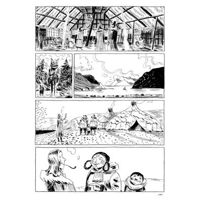 Original Art Page - Romantica - Chamisso - Page 101