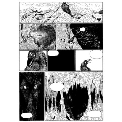 Planche originale - Bjorn le Morphir - Tome 7 - Planche 39