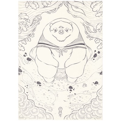 Planche originale + crayonné - page 28 - Timo l'aventurier