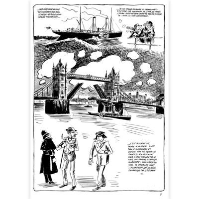 Planche originale-Verlaine-Une saison en enfer-planche 5