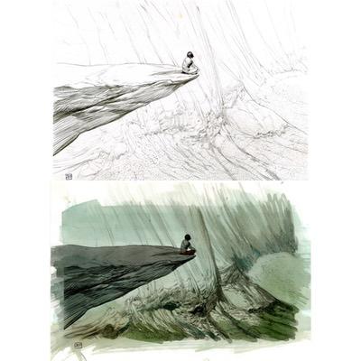 Illustration originale - Geronimo - N°1