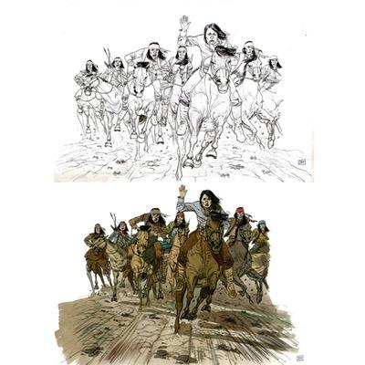 Illustration originale - Geronimo - N°4