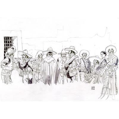 Illustration originale - Geronimo - N°5