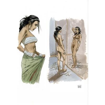 Illustration originale - Corps et âme - N°5