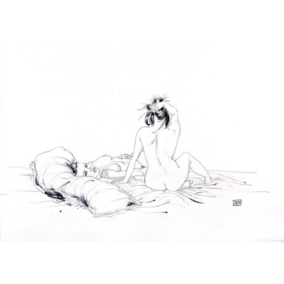 Illustration originale - Corps et âme - N°6