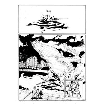 Planche originale - Les bêtes sauvages - Planche N°87