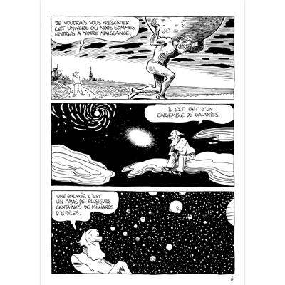 Original Art Page - BDTK des savoirs - L'Univers - Page 6
