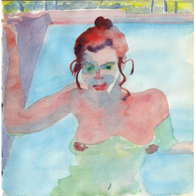 Illustration originale - Piscine N°2