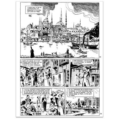Original Art Page - Nerval - L'inconsolé - Page 259-260