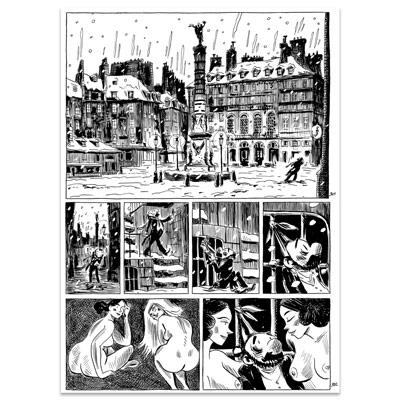 Original Art Page - Nerval - L'inconsolé - Page 301-302