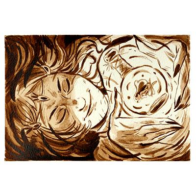 Illustration originale - Dans le flacon