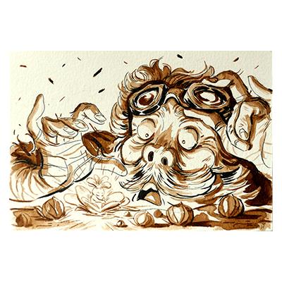 Illustration originale - Éclosion Magique