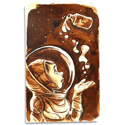 Illustration originale - Espace