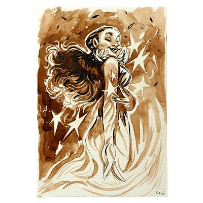 Illustration originale - Magie des Étoiles