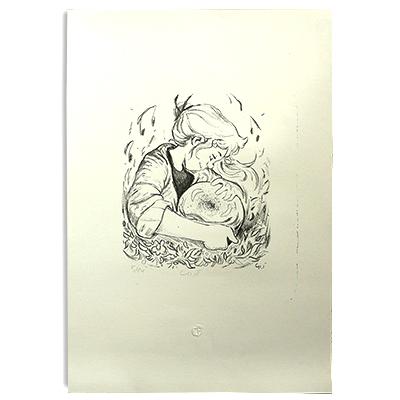 Illustration originale - Lithographie