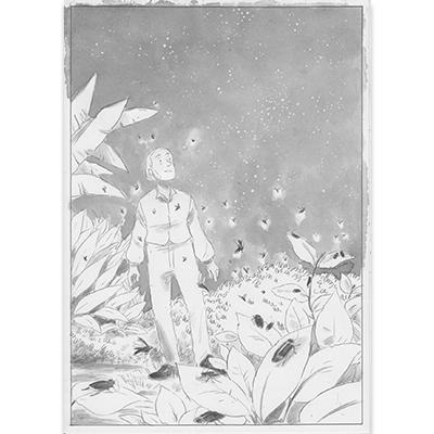 Planche originale Aux origines de Darwin pl 62