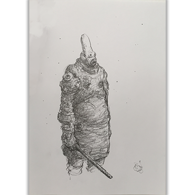 Illustration originale Tremen Guard