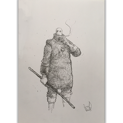 Illustration originale Tremen Rumpert