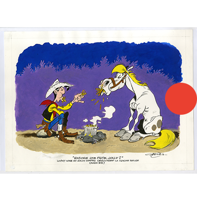 Lucky Luke - Encore une frite, Jolly ?