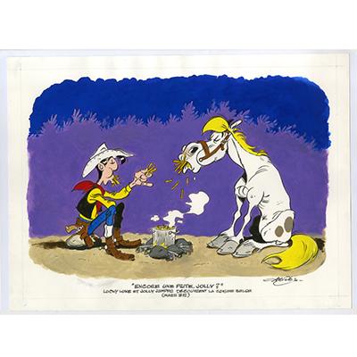 Lucky Luke - Encore une frite, Jolly ?