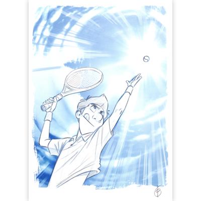Original Illustration - Louca - Volume 5 - Title Page
