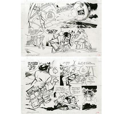Original page T1 La fille du Z, Page 13 - Munuera