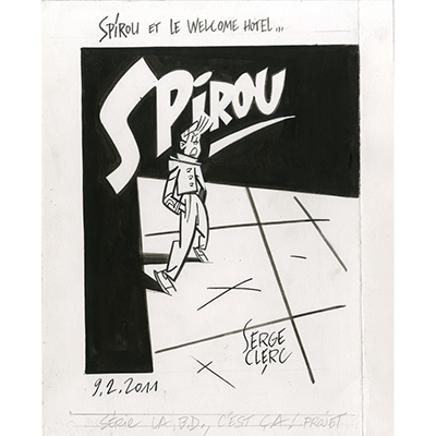 Illustration Spirou et le Welcome Hôtel