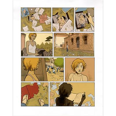 Planche originale Les Gens Honnêtes tome 4, planche 38