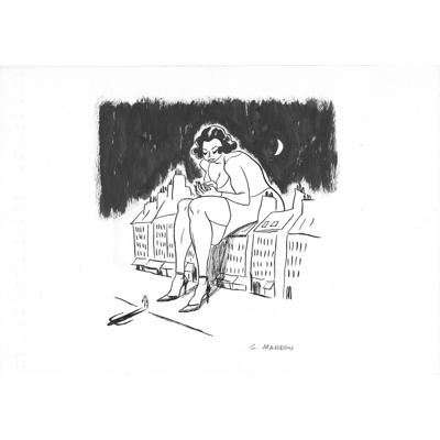 Ex-libris original, n°2 - Incognito
