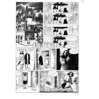 Planche originale - Pauvre Jean-Pierre - Tome 2 - Planche 40