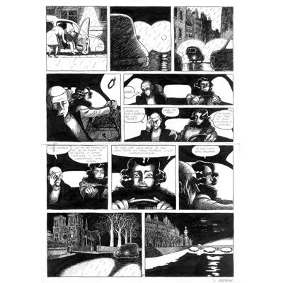 Planche originale - Pauvre Jean-Pierre - Tome 2 - Planche 48