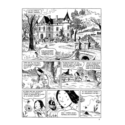 Planche originale-Romantica-Chamisso-planche 1